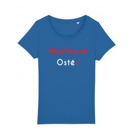 tee shirt bleu pour osétopathe