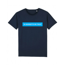Tee shirt cavalier marine