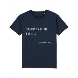 Tee shirt en retard à la reco